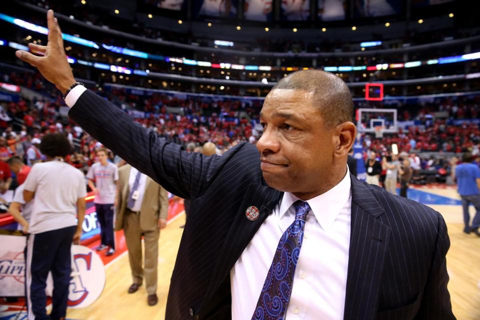 Doc Rivers is entering his second season as Clippers coach.