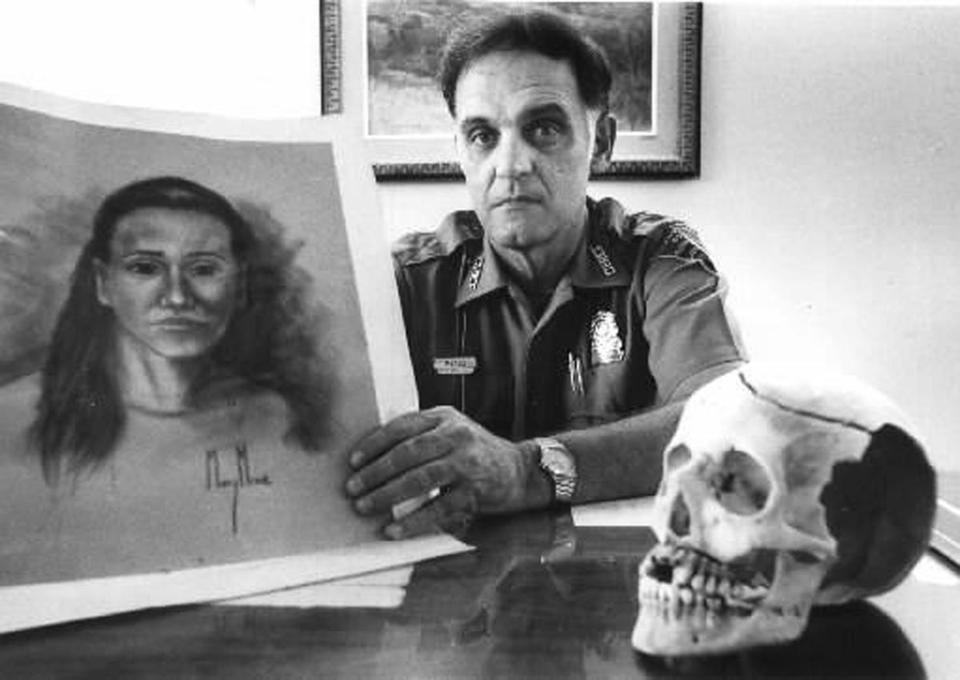 In July 1974, a woman's remains were found in the National Seashore in Provincetown. Her hands were amputated, and she had been nearly decapitated.