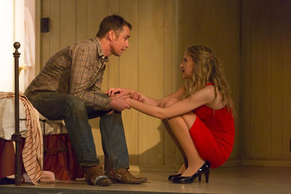 "Sam Rockwell and Nina Arianda in ""Fool for Love"" at the Williamstown Theatre Festival."
