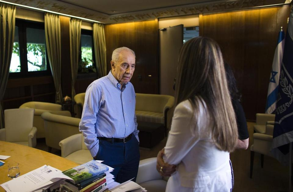 Shimon Peres has had a career dating to the 1940s.
