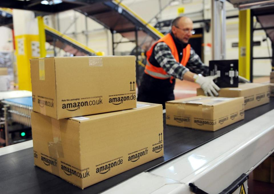 An Amazon facility in Germany.