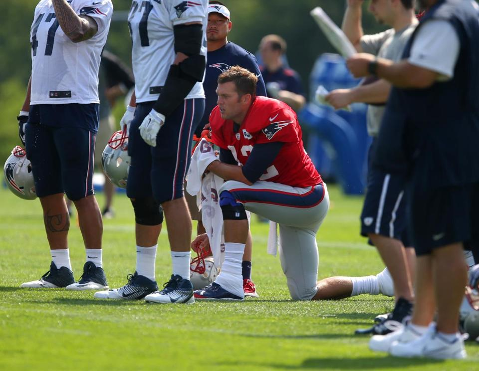Tom Brady will turn 37 during training camp this season, his 15th with the Patriots.