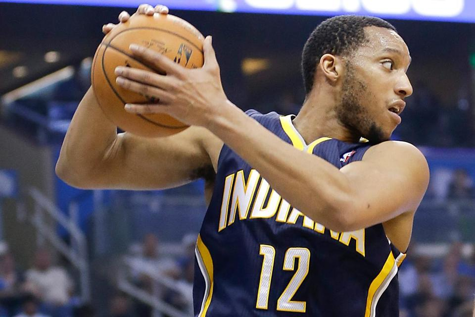 Evan Turner barely played for the Indiana Pacers after a midseason trade.