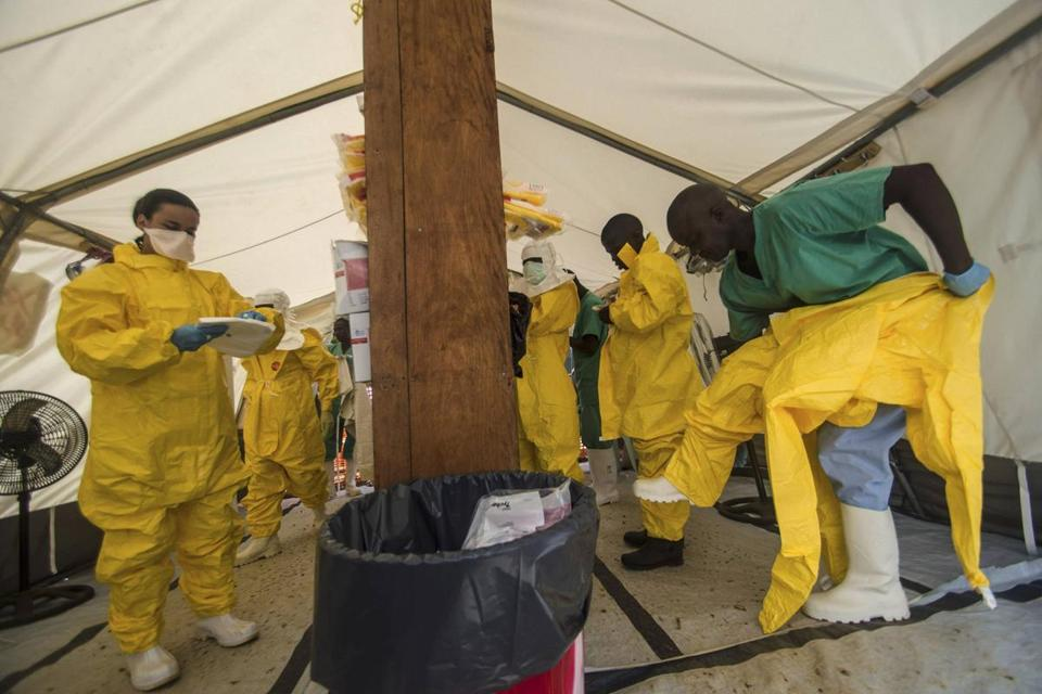 Health workers say they are now battling two enemies: the unprecedented Ebola epidemic and fear.