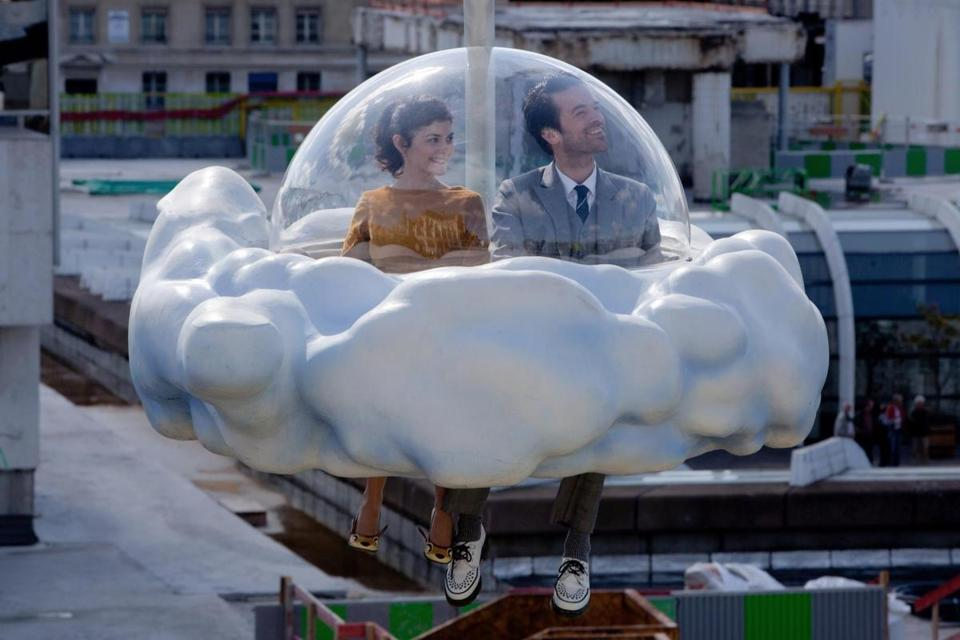 "Audrey Tautou and Romain Duris star in ""Mood Indigo,"" Michel Gondry's adaptation of the absurdist love story ""L'Écume des Jours."""