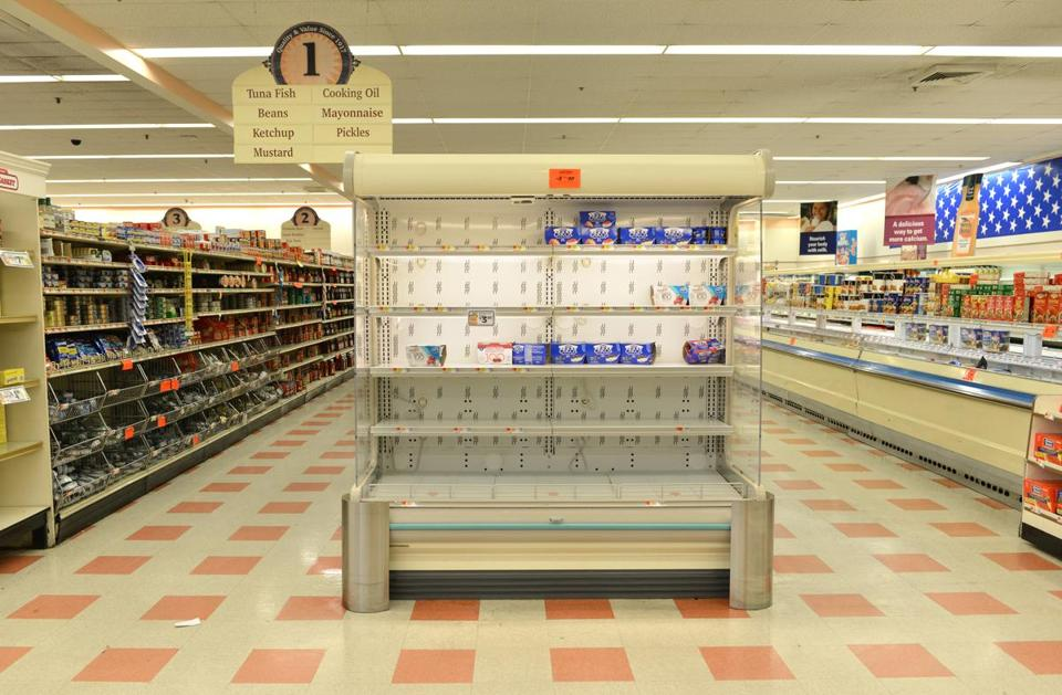 There has been a sharp drop off in business at Market Basket stores.
