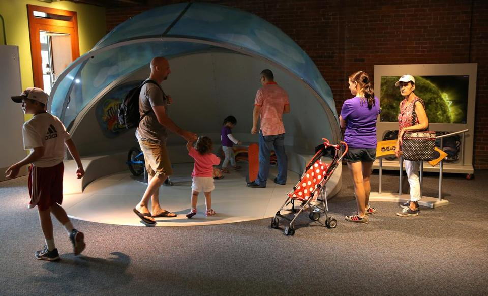 "The new Children's Museum exhibit ""My Sky"" is a joint effort."