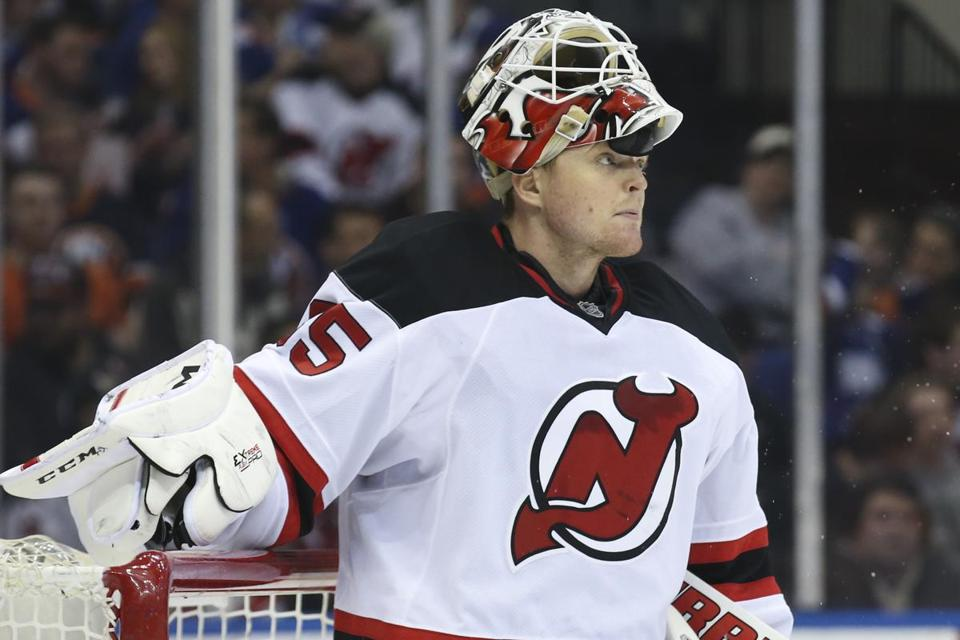 Marblehead native Cory Schneider could help New Jersey make it back to the postseason.