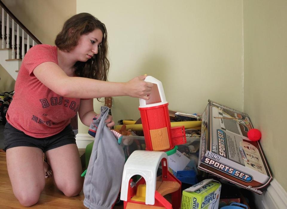 Hannah Leschinsky, 20, a student, is like the nanny equivalent of an office temp.