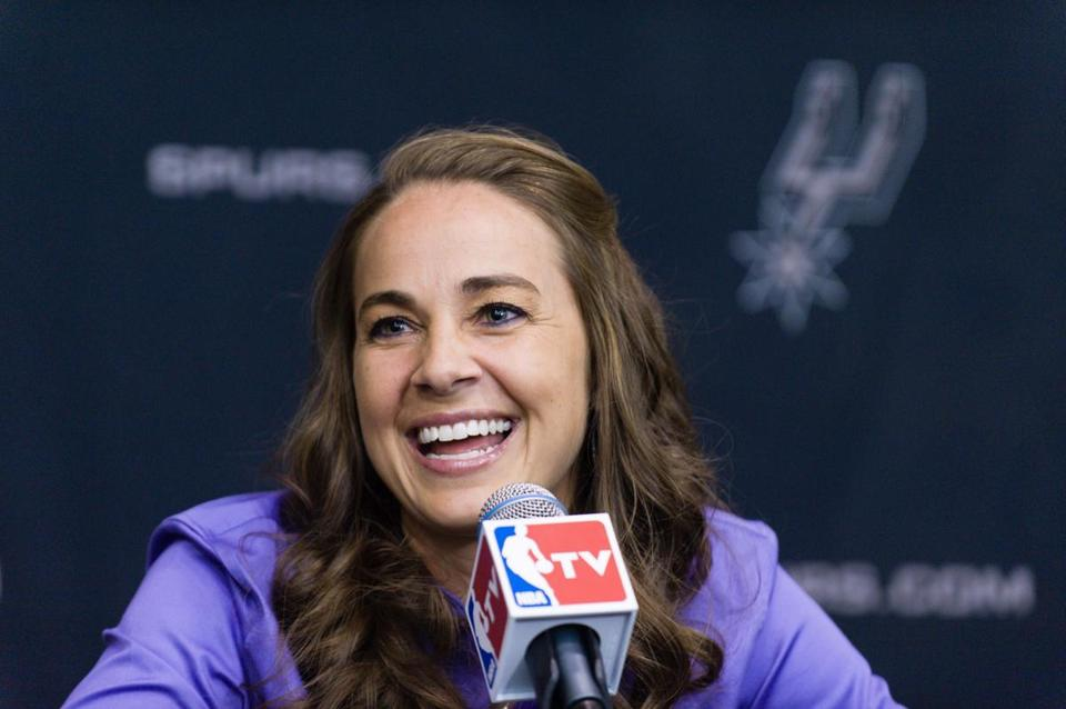Becky Hammon will join the Spurs as an assistant coach.