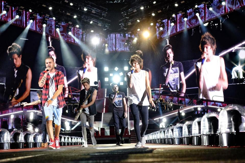 One Direction's concert in Foxborough revealed how their music has shifted stylistically over their three albums.