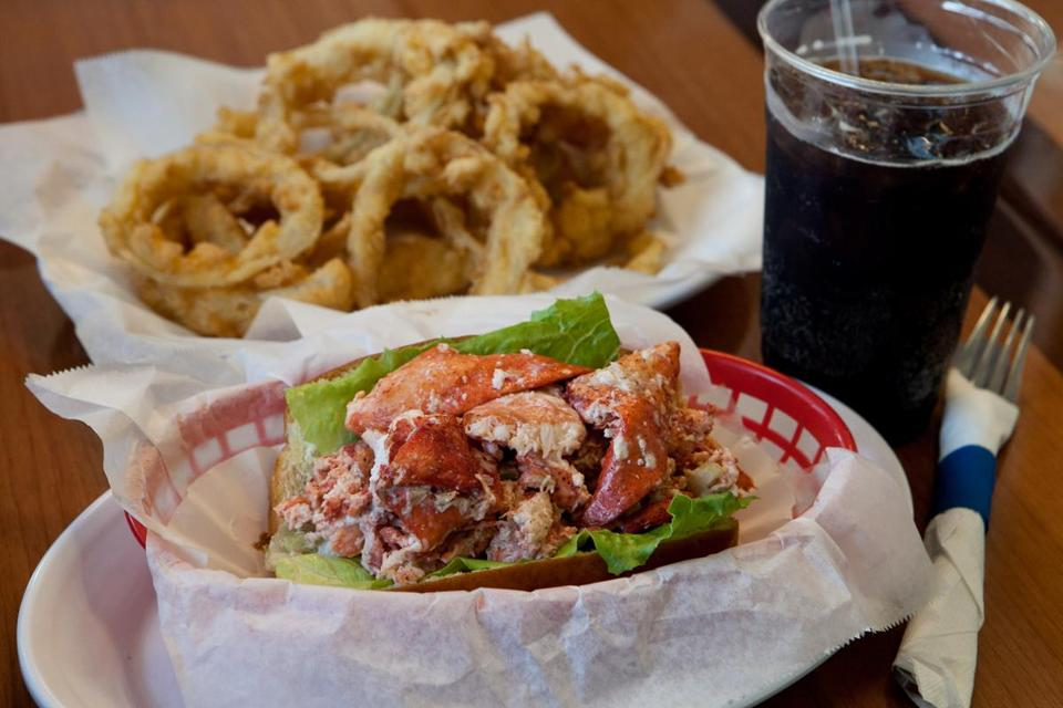 The lobster roll and onion rings are the real deal at Marvels' Lunch Box, a two-year-old spot on Nantasket Avenue in Hull.