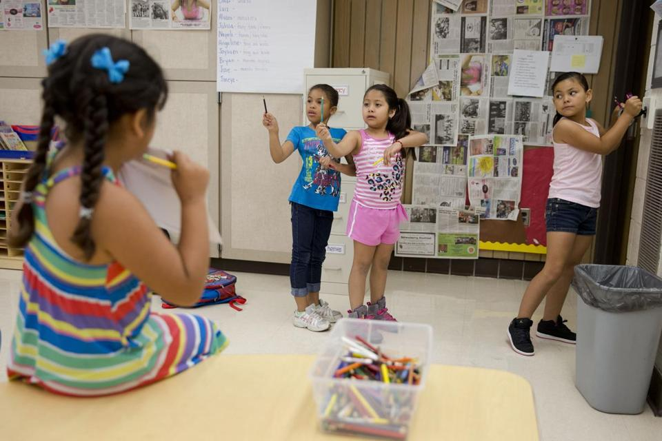 Students enrolled in summer school in Pennsylvania's Kennett Consolidated School District reflect the changing face of America's school-aged population.