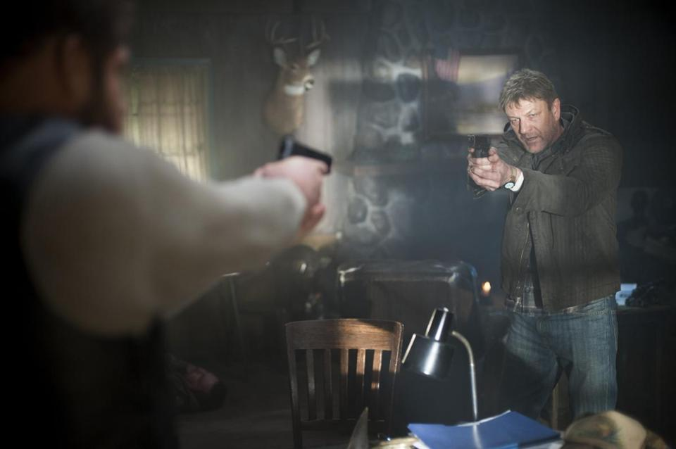 "Sean Bean stars as gifted but psychologically exhausted undercover agent Martin Odum in ""Legends"" on TNT."