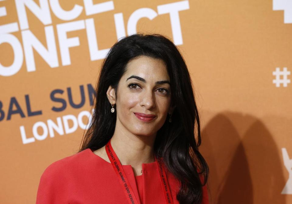 Amal Alamuddin, a high-profile British-Lebanese lawyer, will serve on a commission looking at possible violations of the rules of war in Gaza.