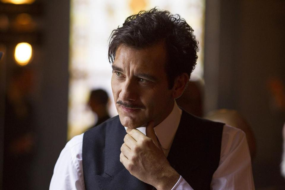 "Clive Owen as Dr. John Thackery in Cinemax's ""The Knick."""