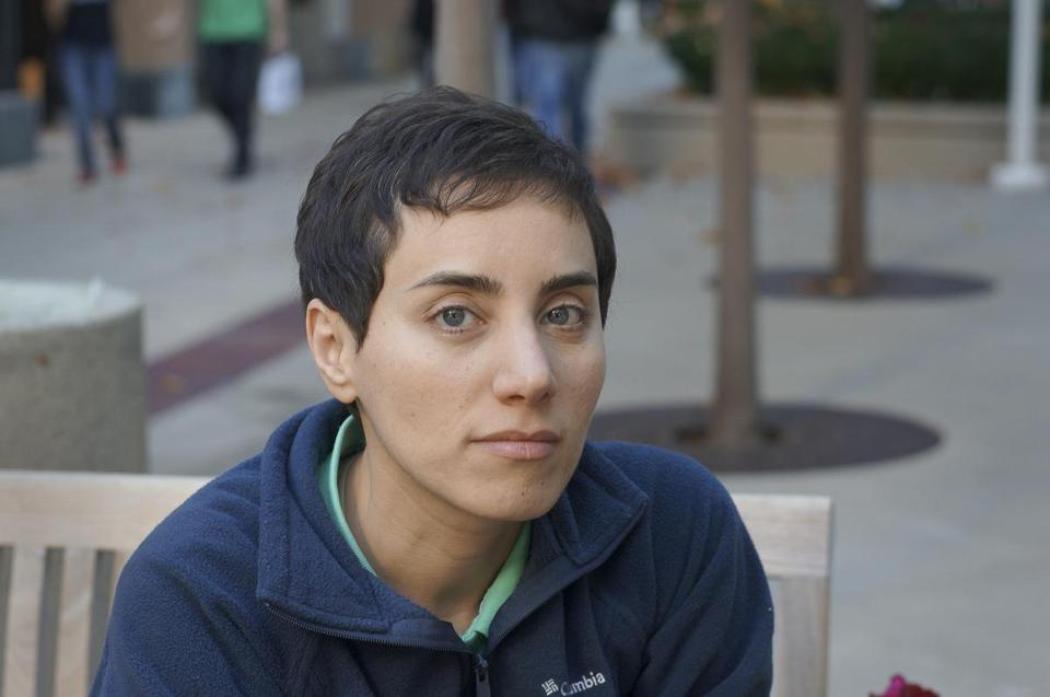 Dr. Maryam Mirzakhani in an undated photo.