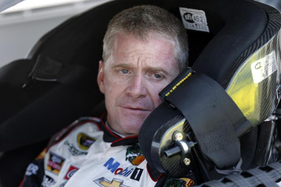 Jeff Burton will fill Tony Stewart's seat on Sunday for Stewart-Haas Racing. Stewart is skipping his second straight Sprint Cup race after his car struck and killed a driver at a small track last weekend. (AP Photo/Paul Sancya)