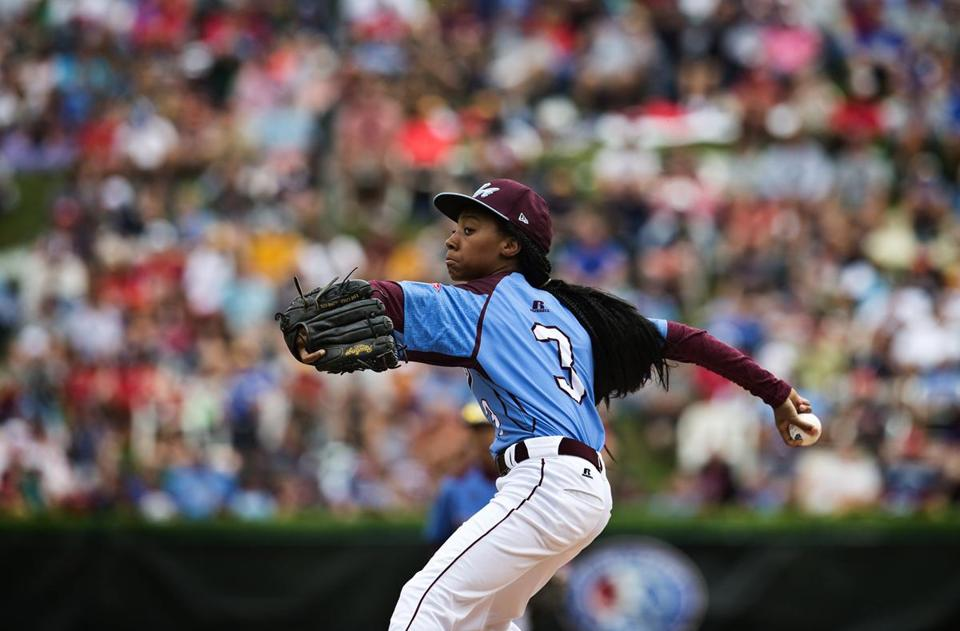 Mo'Ne Davis is one of two girls at the Little League World Series.