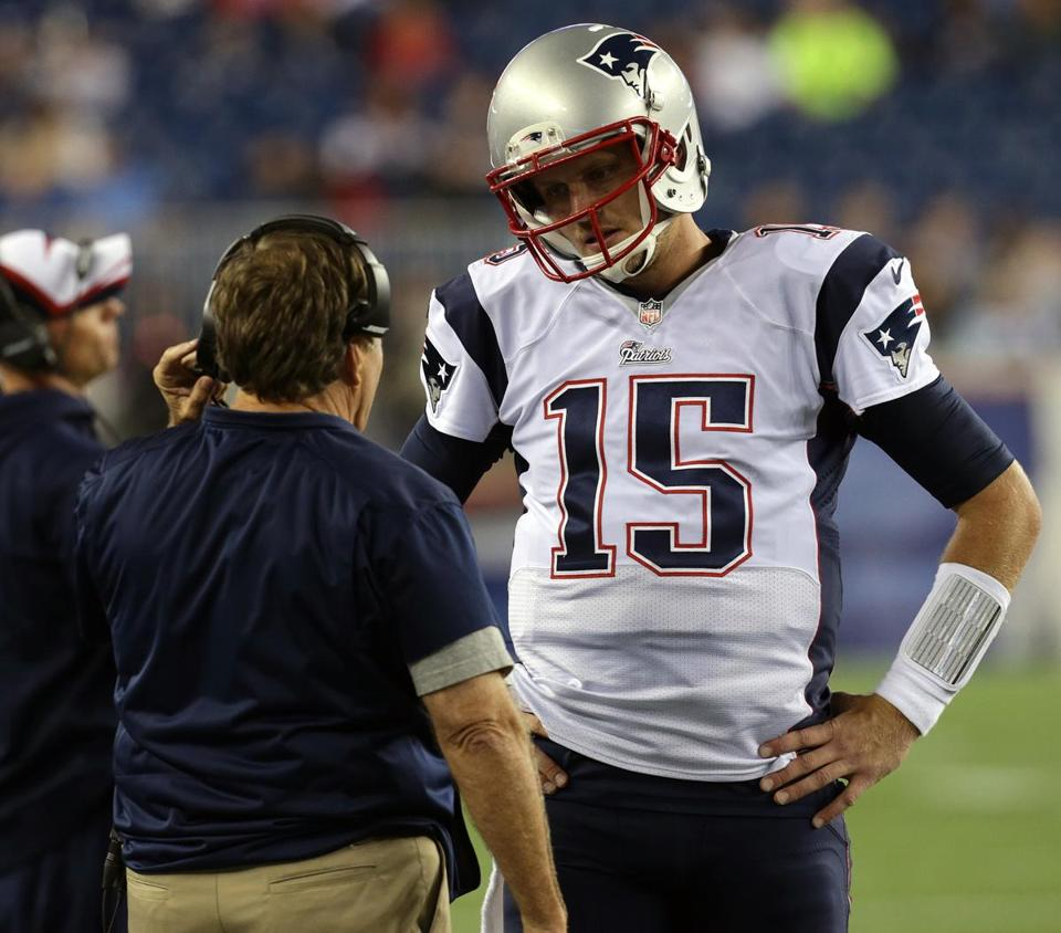 The Patriots should consider trading backup quarterback Ryan Mallett.