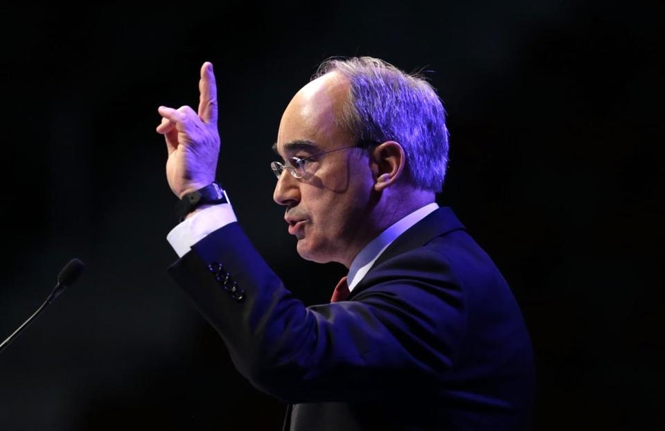 GOP congressional hopeful Bruce Poliquin of Maine was among conservatives with Tea Party backers.
