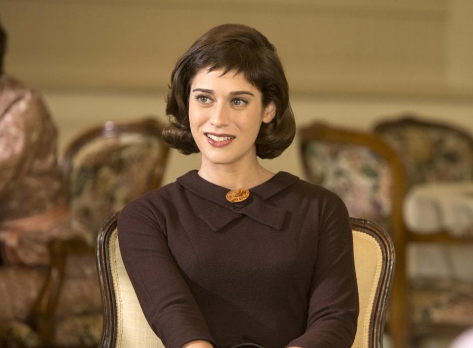 "Lizzy Caplan in ""Masters of Sex."""