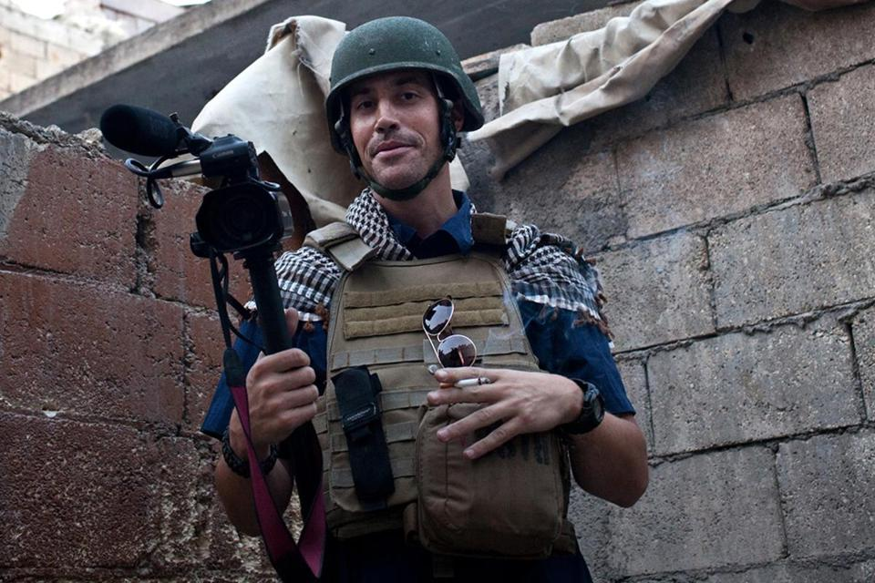 James Foley was reportedly intercepted in 2012 as he was traveling toward the Turkish border.