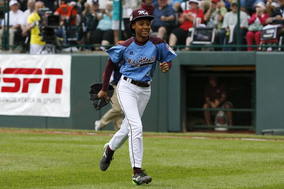 Mo'ne Davis will pitch again Wednesday for the Taney Dragons of Philadelphia against a power-hitting team from Las Vegas.