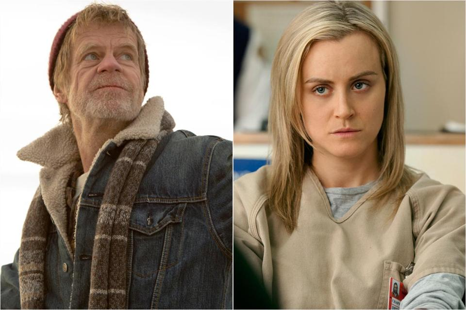 "William H. Macy of ""Shameless"" is nominated for a lead comedy actor award at the Emmys and ""Orange is the New Black"" has 12 comedy nominations this year."