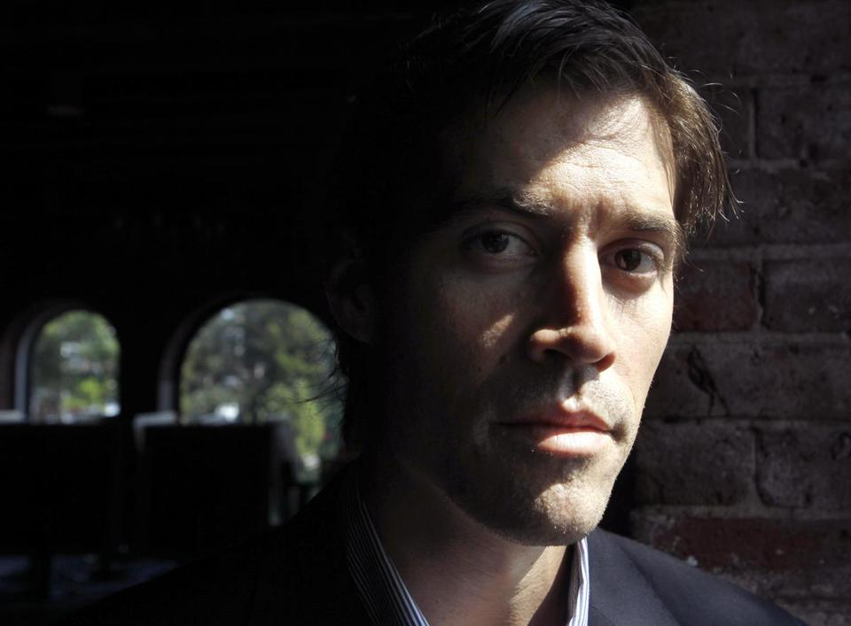 James Foley poses for a photo in Boston in May 2011.