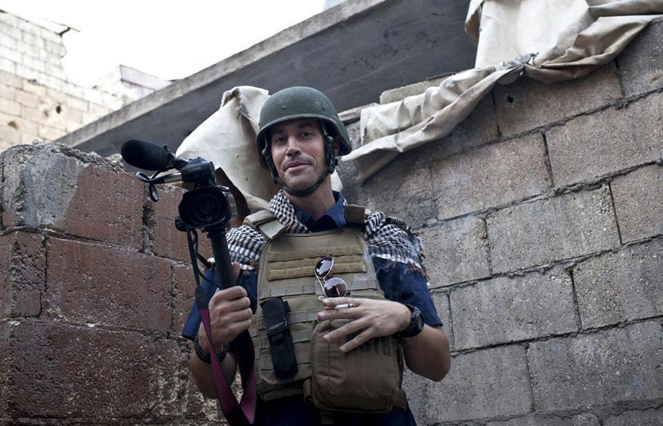 James Foley was captured in late 2012.