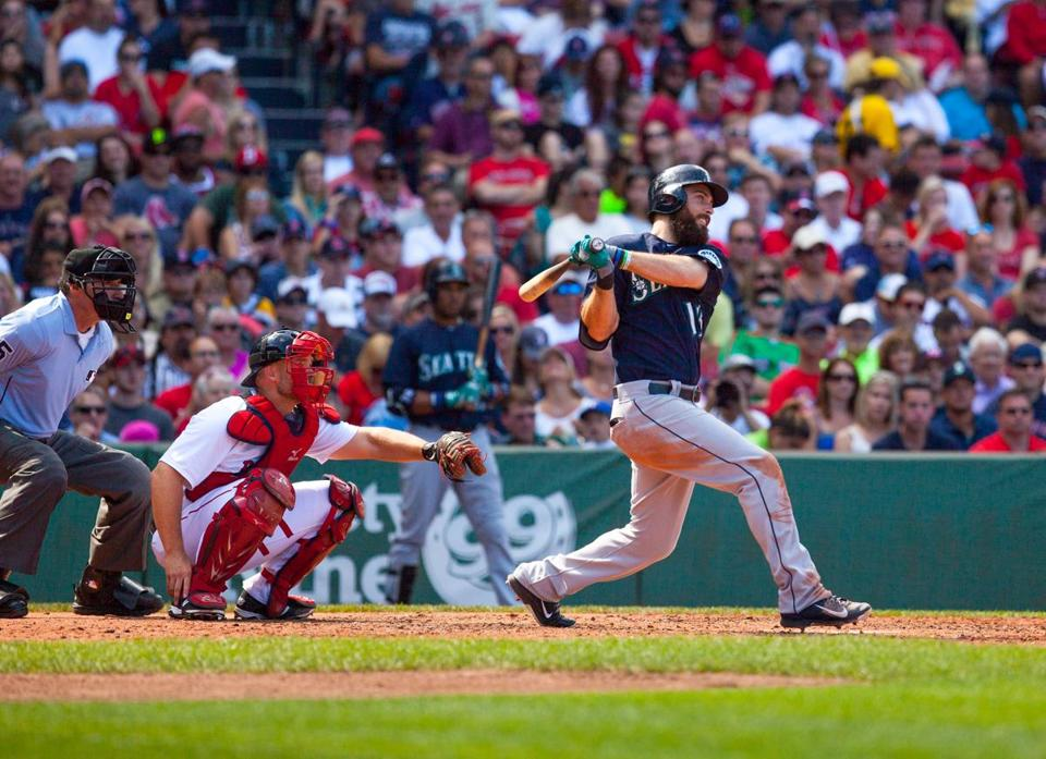 Dustin Ackley hit a three-run home run in the fourth inning.