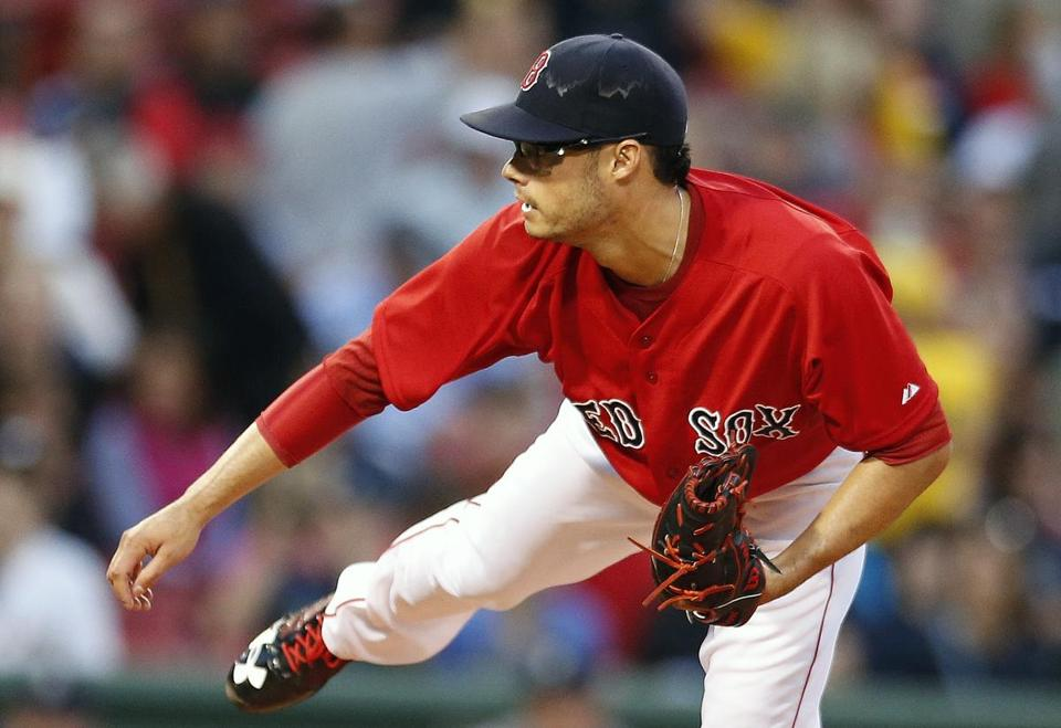 Joe Kelly was the dominant starter Friday, pitching five innings of shutout ball before being forced from the game.