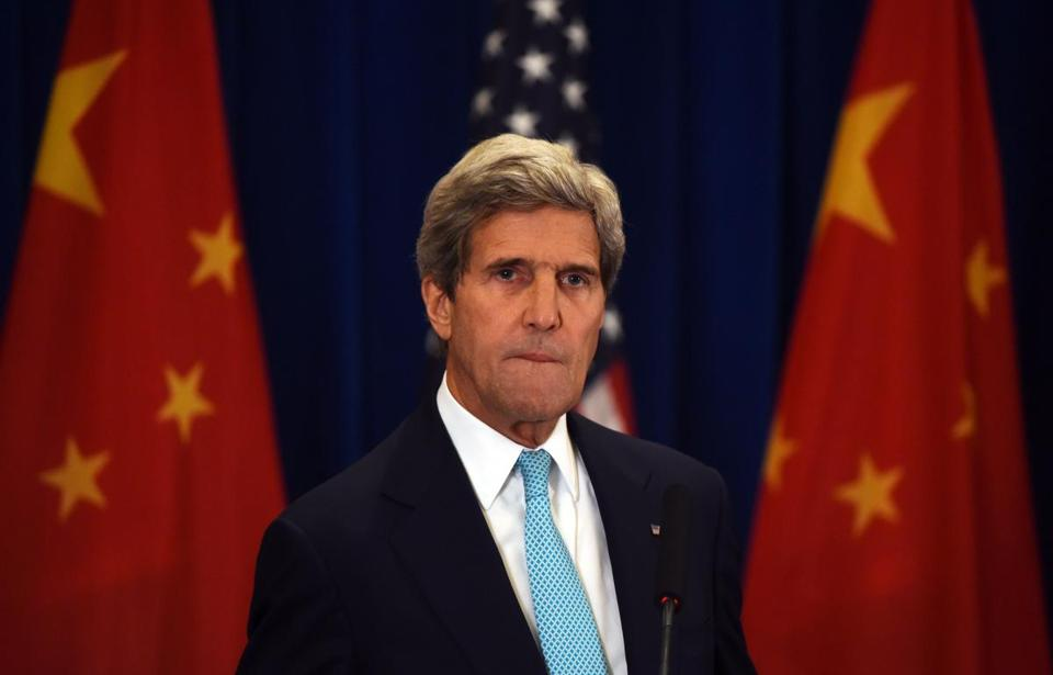 """I don't think there's a single senator sitting there trying to punish our diplomats, but that's the impact. Countries wonder whether we mean what we say about the strength of the relationship when we don't even send them an ambassador,"" Secretary of State John Kerry said."