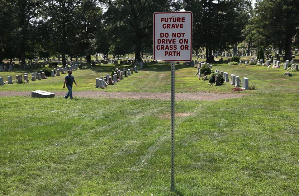 BROOKDALE CEMETERY, DEDHAM: Dedham plans to openanew section of its Brookdale Cemetery soon. The Village Cemetery and Baby Cemetery are inactive; the latter was used to bury the infants of pauper families.