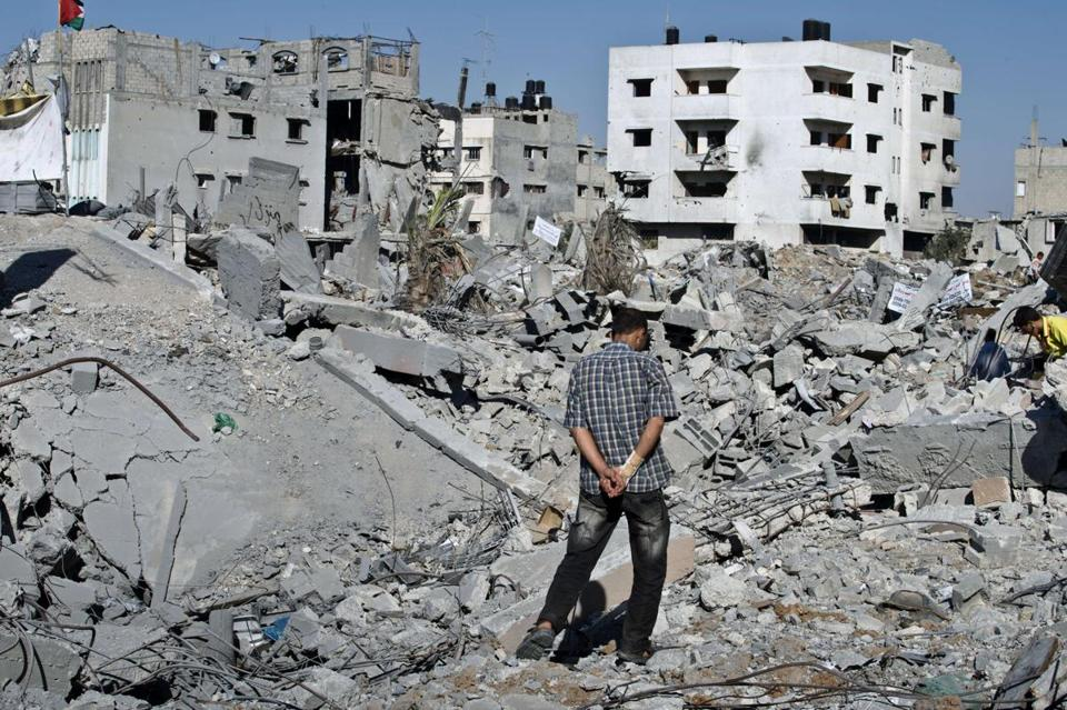 An Israeli official said Hamas had gained little from the conflict, which has left vast tracts of Gaza in ruins.