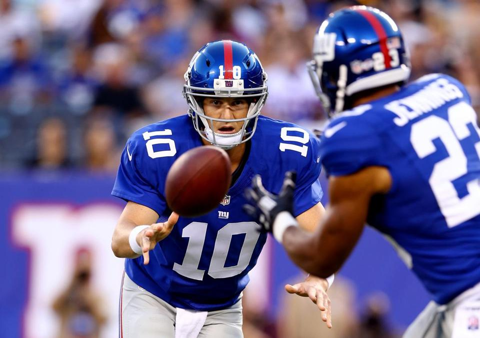 How long will it take for Eli Manning and the Giants offense to get into a groove?