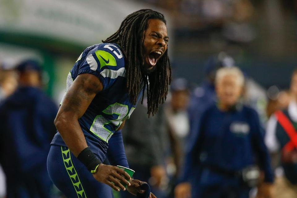 Richard Sherman and the Seahawks are out to become the NFL's first back-to-back champions since the Patriots in 2003-04.