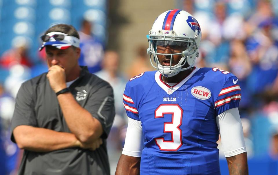 If his preseason production rolls over into the regular season, it could be a long year for EJ Manuel.