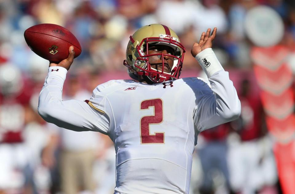 Tyler Murphy had a big hand in BC's win, passing for a score and running for a team-high 118 yards and a TD.