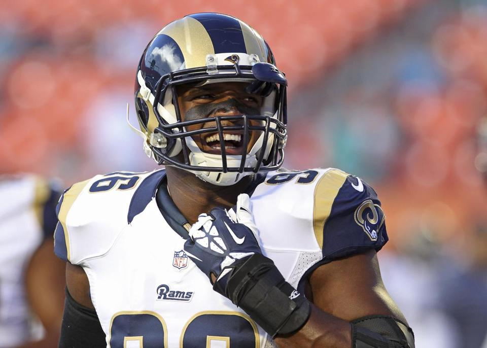 Michael Sam could make the Rams' 10-man practice squad.