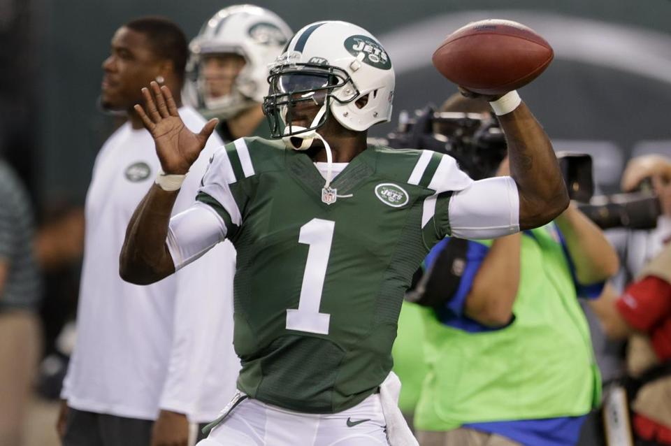 Jets fans undoubtedly will be clamoring for Michael Vick, but he is not the No. 1 quarterback. AP Photo/Julio Cortez