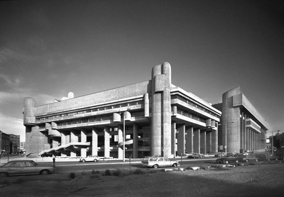 Paul Rudolph's Government Service Center.