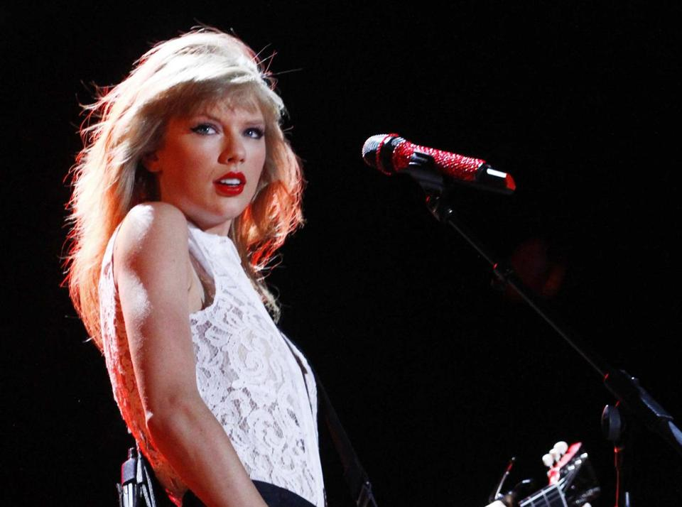 The iHeart name is attached to, among other things, a music festival. Above, Taylor Swift.