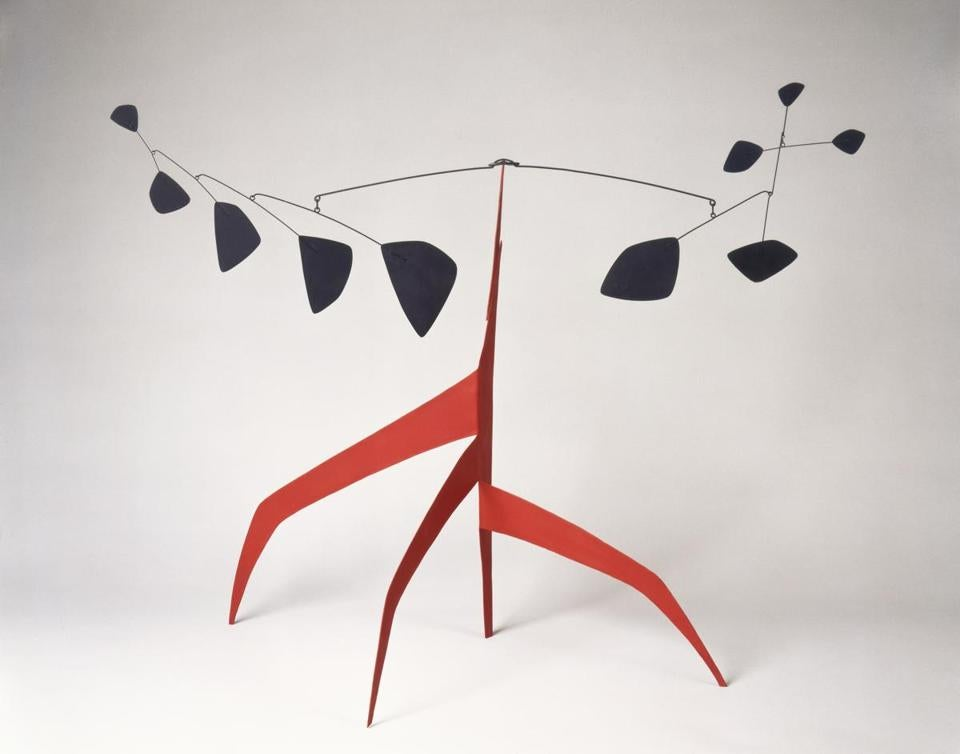 """Southern Cross,"" a maquette from 1963 by Alexander Calder."