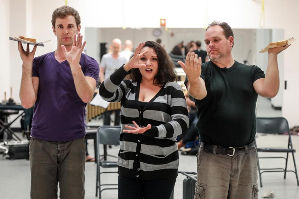 From left: Patrick Massey, Aliana de la Guardia, and Brian Church.