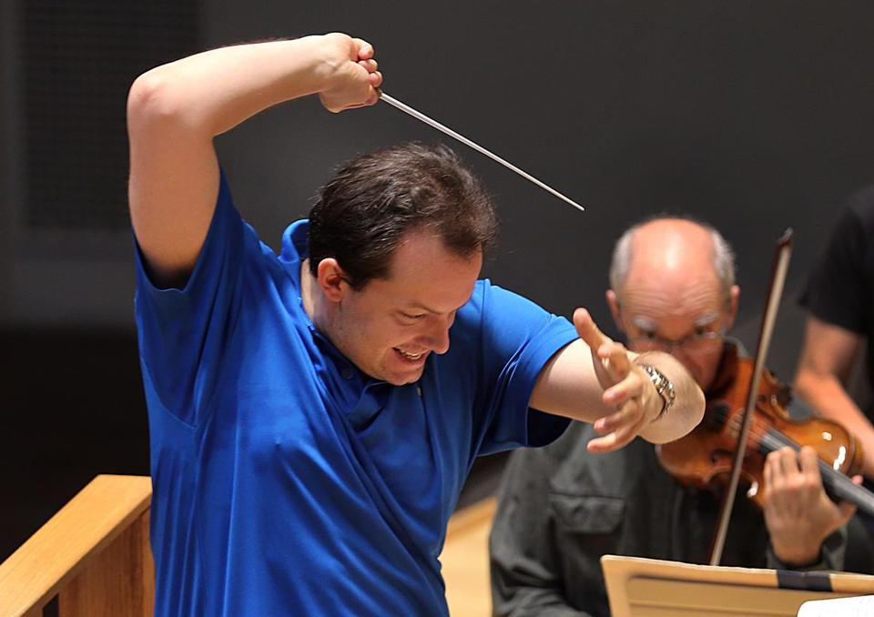 "BSO music director Andris Nelsons said he's looking forward to ""performing great music."""