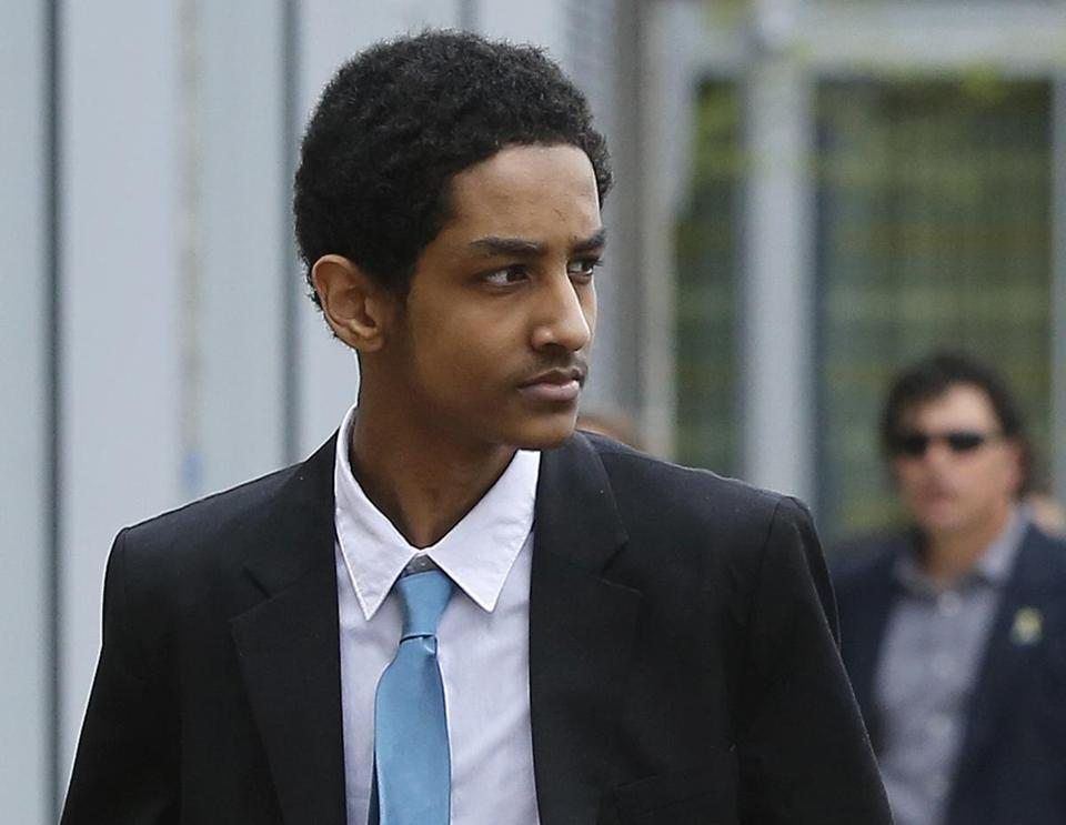 Robel Phillipos, 21, is charged with lying to authorities investigating the bombing.