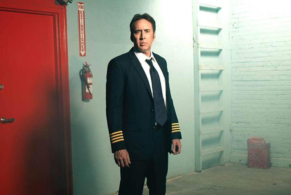 Nicolas Cage in the 2014 film LEFT BEHIND, directed by Vic Armstrong.