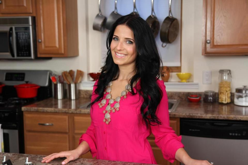 "Laura Vitale, of ""Laura in the Kitchen."""